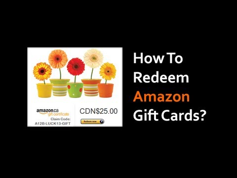 amazon kindle gift card redeem