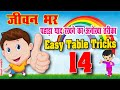 14 table Tricks/ Multiplication table of 14/ Table Trick/ jaytech & fun