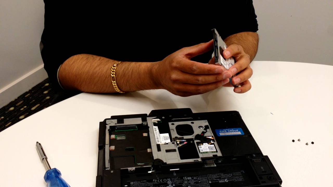 Hp 2760p - How To Replace The Hard Drive