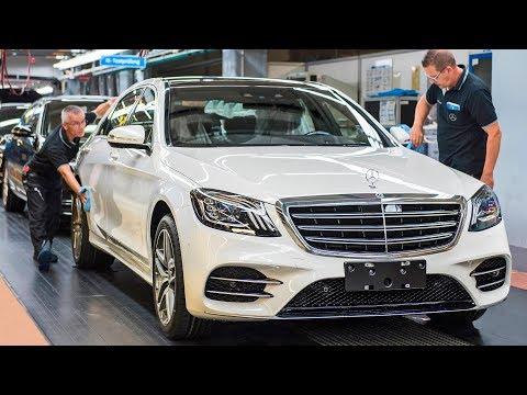Mercedes S Class 2018 Production Autonomous Test Drive