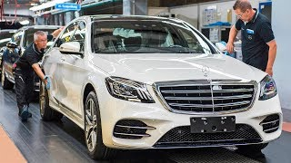 Mercedes S-Class (2018) Production & Autonomous Test Drive