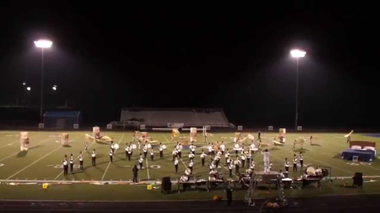 Southern Regional HS Marching Band 2013-