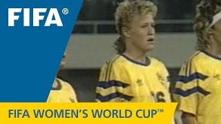 Greatest Women's World Cup Goal? JOHANSSON in 1991