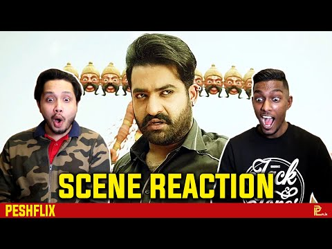 Jai Lava Kusa - Raavan Mass Intro Scene Reaction | Jr. NTR | PESHFlix Entertainment