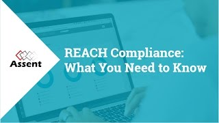 Webinar REACH Compliance What You Need To Know