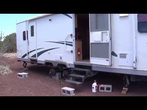 RV Living - Off the Grid Arizona Hot Homestead