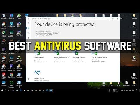 Windows 10: The Best Antivirus Software (Anti-Malware) Personal Opinion