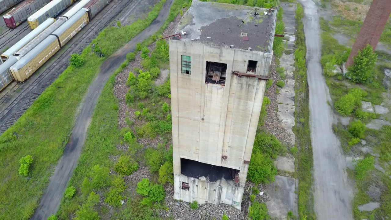 Abandoned Gadsden, Alabama Steel Plant - DJI Mavic Pro Footage