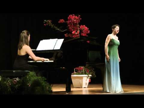 Trois Mélodies - Olivier Messiaen