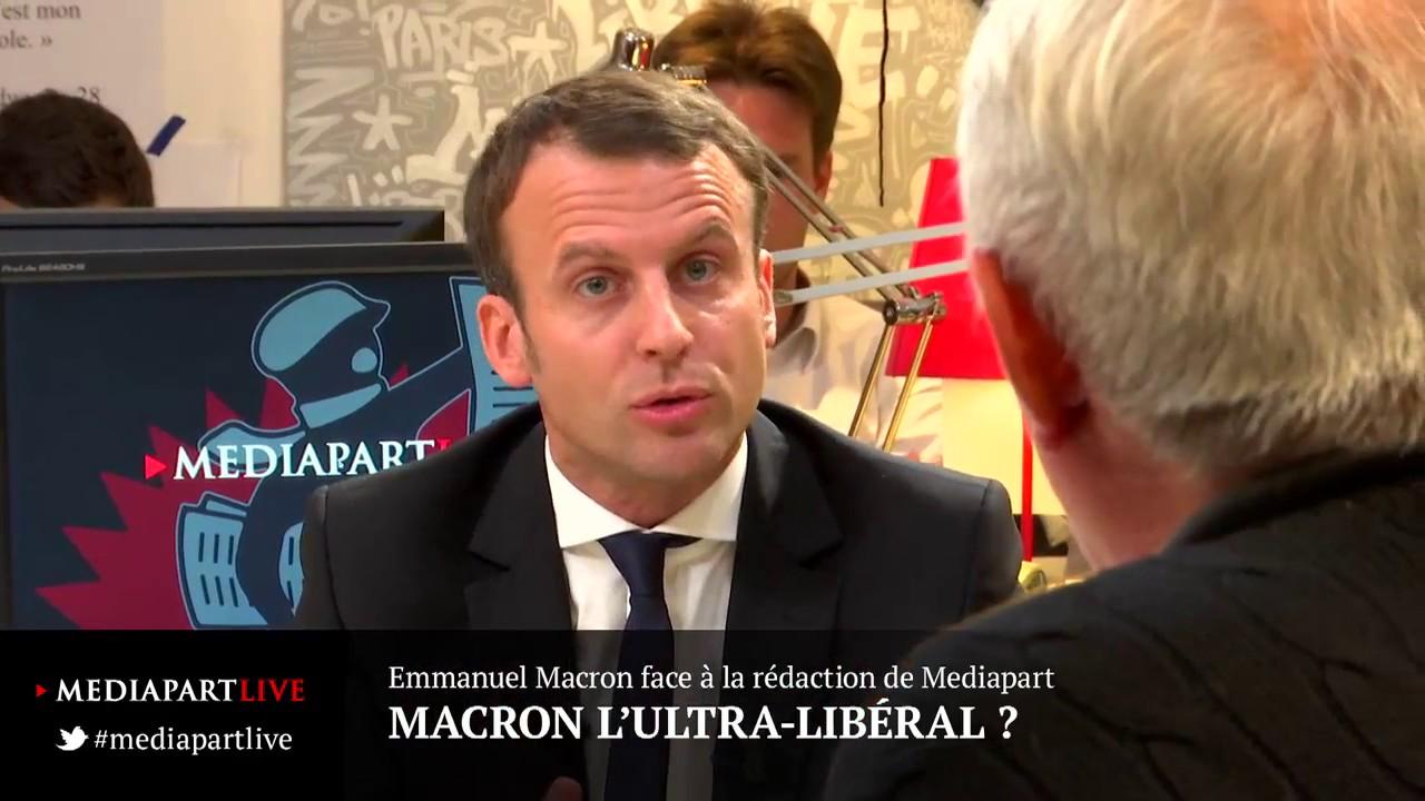 Youtube Macron