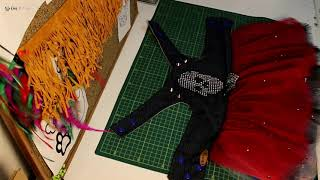Basit kalıptan tül etekli kot elbise yapımı. Çok beğeneceksiniz