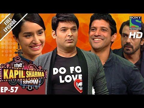 The Kapil Sharma Show - Episode 57–दी कपिल शर्मा शो–Team Rock On 2 In Kapil's Show–5th Nov 2016