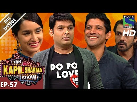 The Kapil Sharma  दी कपिल शर्मा शो Ep57Team Rock On 2 In Kapil's –5th Nov 2016