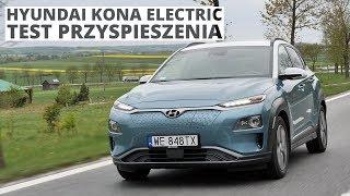 Hyundai Kona Electric 204 KM - acceleration 0-100 km/h