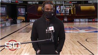 Jae Crowder talks Heat's Game 3 win vs. Lakers, Jimmy Butler's huge night | SportsCenter