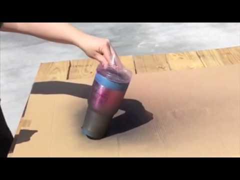 Paint your own Ozark or Yeti Tumbler