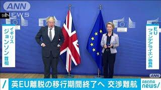 英・EUの貿易交渉難航 首脳同士でもまとまらず(2020年12月10日) - YouTube