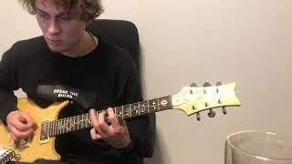 Emigrate - Hide and Seek (Not cover; lesson; riffs with tabs at the end)