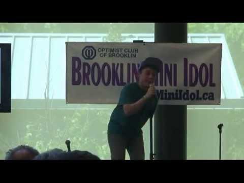 Jacob Ewaniuk singing One Life by Hedley at Brooklin Mini Idol 2013