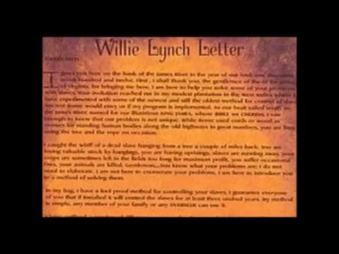 willie lynch syndrome today