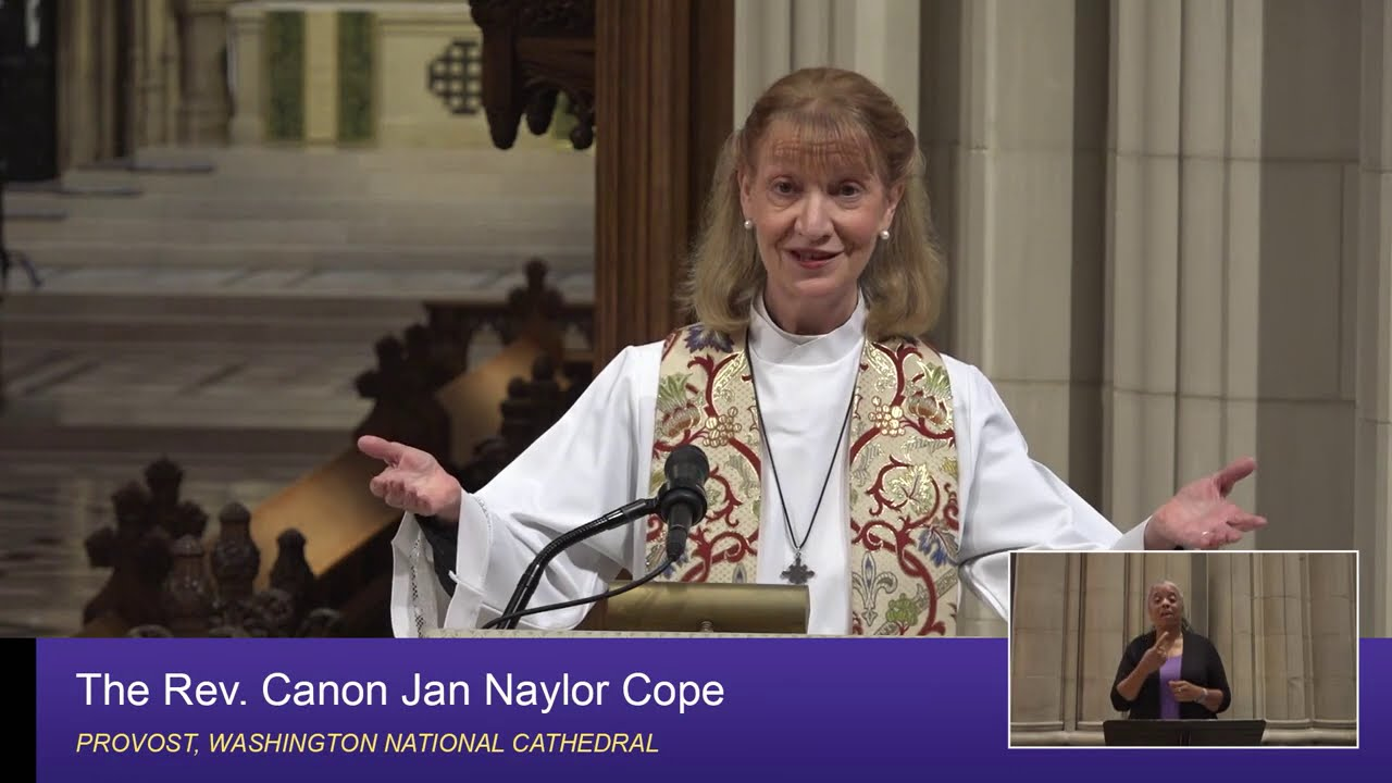 September 20, 2020: Sunday Sermon by The Rev  Canon Jan Naylor Cope