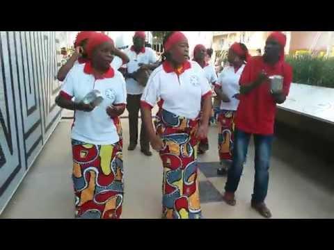 Gruppo congolese a Expo
