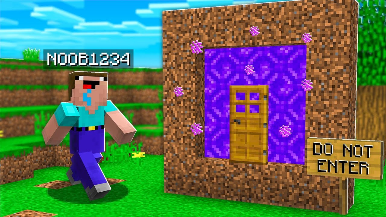 I Found Noob1234's SECRET Portal in Minecraft! thumbnail