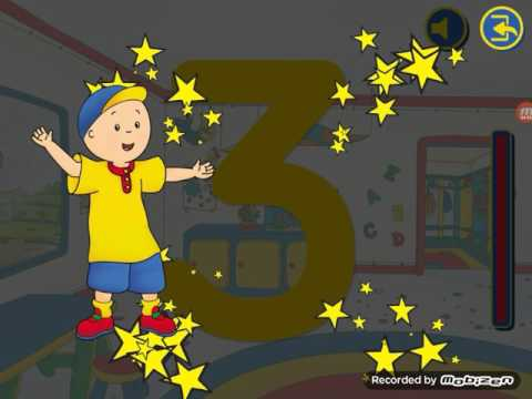 Playing Caillou Games Part 1