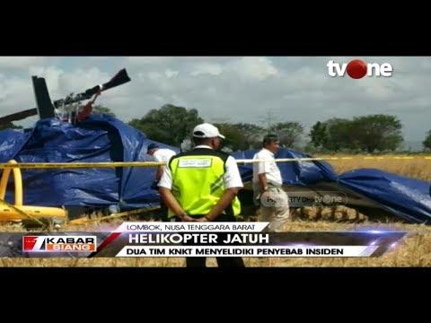 Tim KNKT Gelar Investigasi dan Penyelidikan di Lokasi Jatuhnya Helikopter