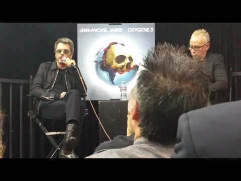 Jean-Michel Jarre interview by Nic Harcourt 1/17/17 at Amoeba Music in Hollywood HD - Part 1