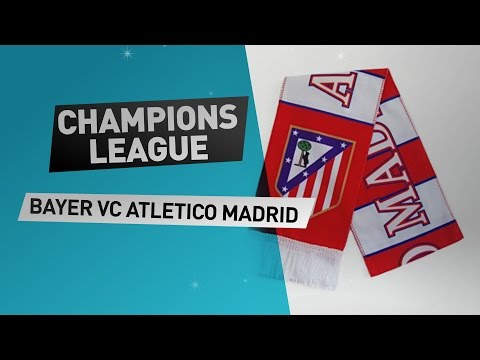 Champions league Bayer VC Atletico Madrid // Get now Great Deals on Exciting Soccer Merchandise!