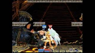 Guilty Gear Dust Strikers Nintendo DS Gameplay - Two Views