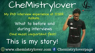 My experience of phd interview at IISER-Kolkata