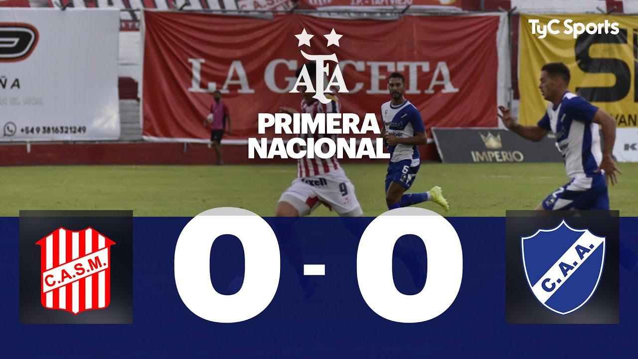 San Martín (T) 0-0 Alvarado | Primera Nacional