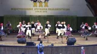 Tańce podlaskie - ZPiT UM - XXX International Folklore Meeting Lublin 2015 - 11.07.2015