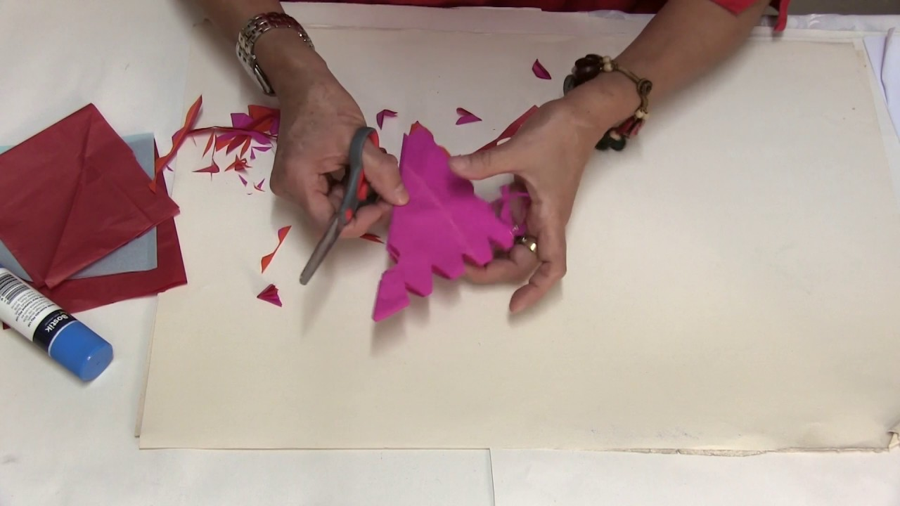 mexican paper flags papel picado youtube