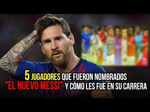 5 jugadores que fueron nombrados 'El Nuevo Messi' y còmo les fue en su carrera