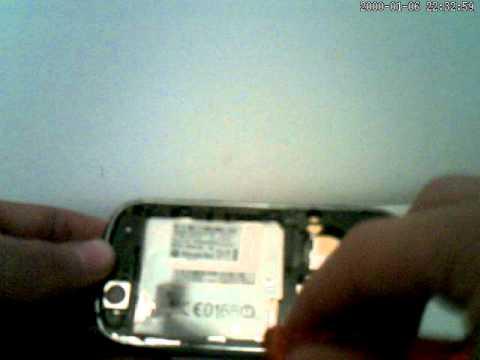 reparar pantalla tactil motorola cliq dext mb220 / Repair touch screen motorola part2
