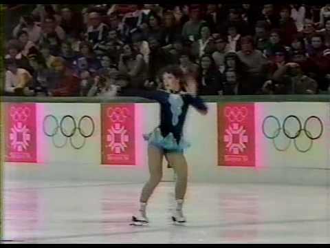 Kira Ivanova (URS) - 1984 Sarajevo, Figure Skating, Ladies' Long Program
