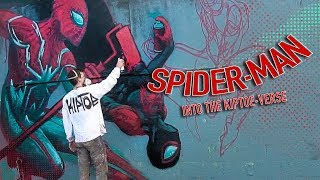 Graffiti Spider-Man: Into the Kiptoe-Verse!