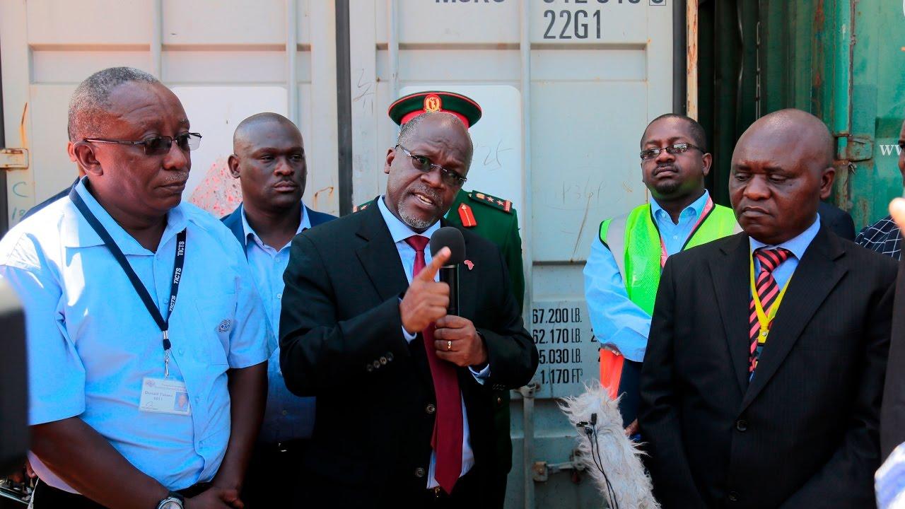 Download Alichokikuta Rais Magufuli baada ya kufanya ziara ya kushitukiza bandari DSM leo