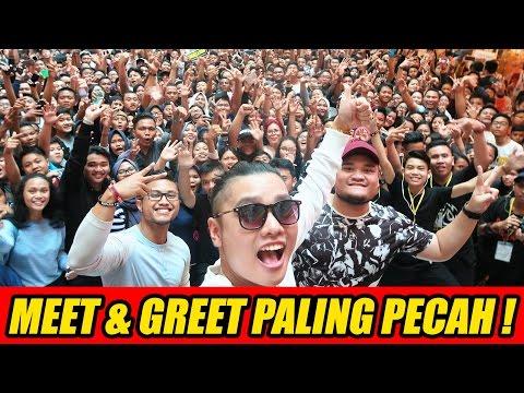 MEET & GREET PALING PECAH DI INDONESIA ! #GAZELLION