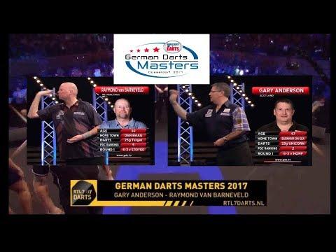 German Darts Masters 2017 KwartFinale G. Anderson vs R. van Barneveld