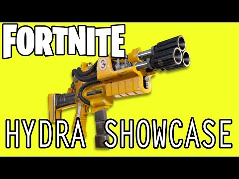 LEGENDARY HYDRA SHOWCASE | Fortnite #4