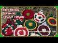 Easy Holiday Ornament Crochet Pattern