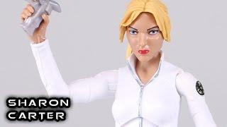 Marvel Legends SHARON CARTER Onslaught Series Figure Review