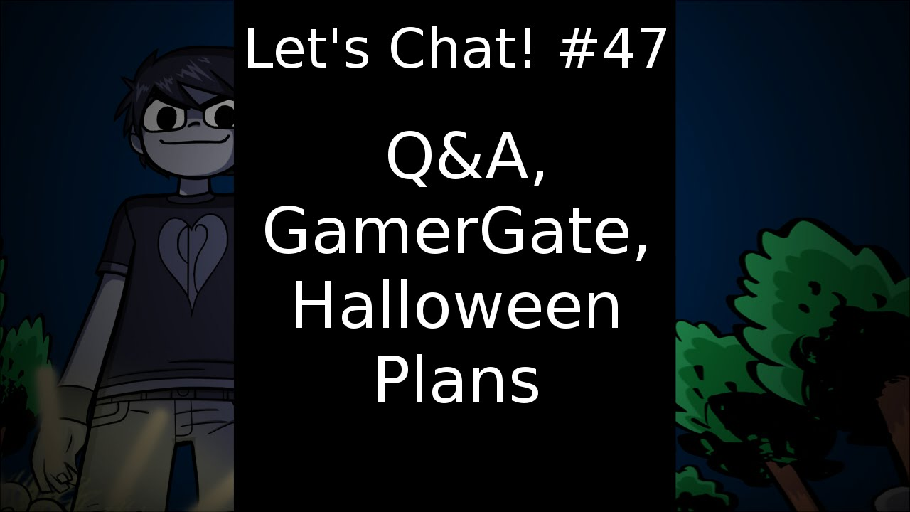 let 39 s chat 47 q a gamergate halloween plans youtube. Black Bedroom Furniture Sets. Home Design Ideas