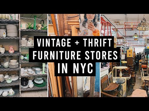 Where to Buy Vintage + Thrifted Furniture and Decor in NYC