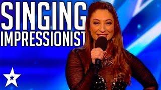 TOP SINGING IMPRESSIONS on Britain's Got Talent 2017