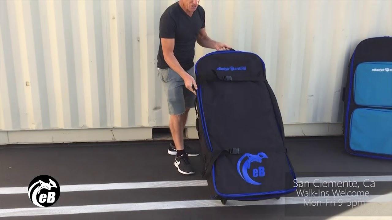 51a16f968193 eBodyboarding Rolling EB Coffin Bodyboard Bag - YouTube